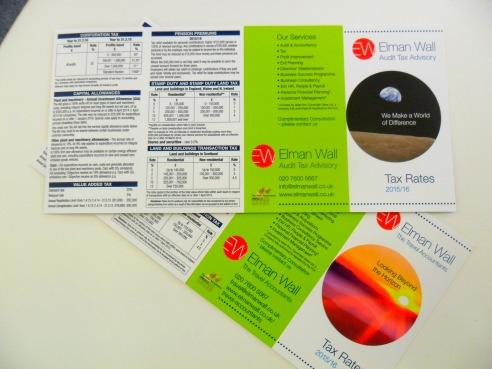 Tax Card 201516