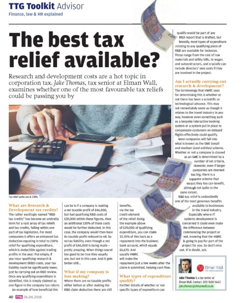 the best tax relief